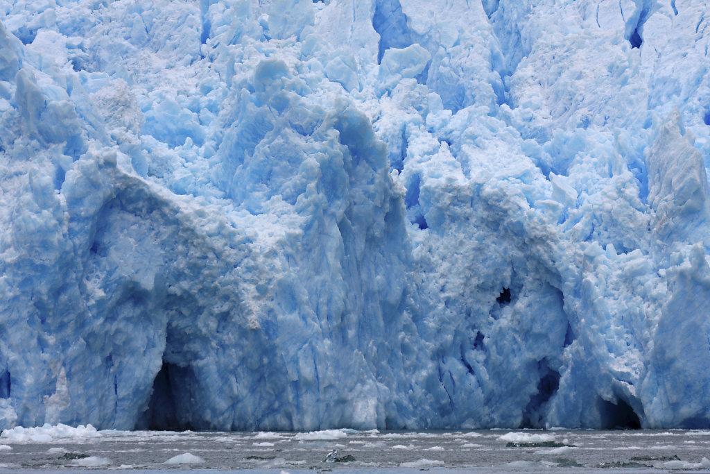 Gletscher Abbruchkante des San Rafael