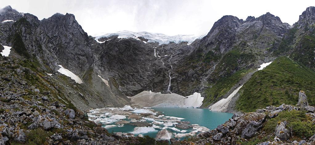Gletschersee beim Bosque Encantado