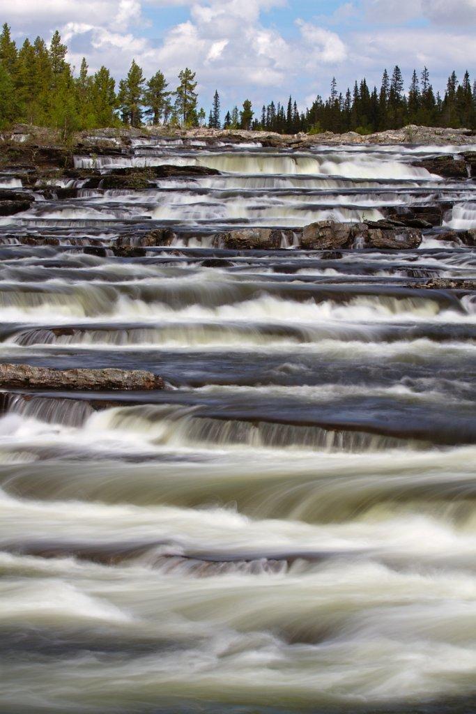 Wasserfall Trappstegsforsen