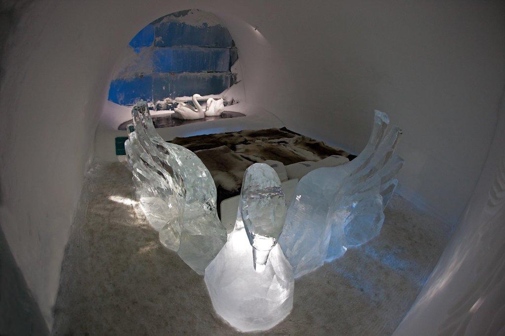 Icehotel von Jukkasjärvi