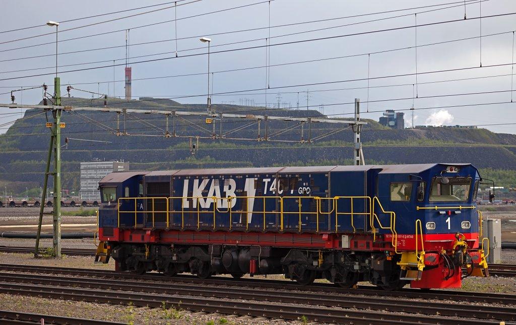 Lok der Erzbahnen Kiruna - Narvik