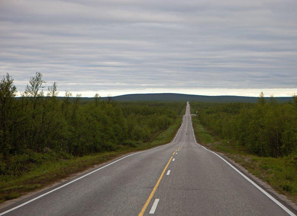 Unendliche Weite im Norden Schwedens