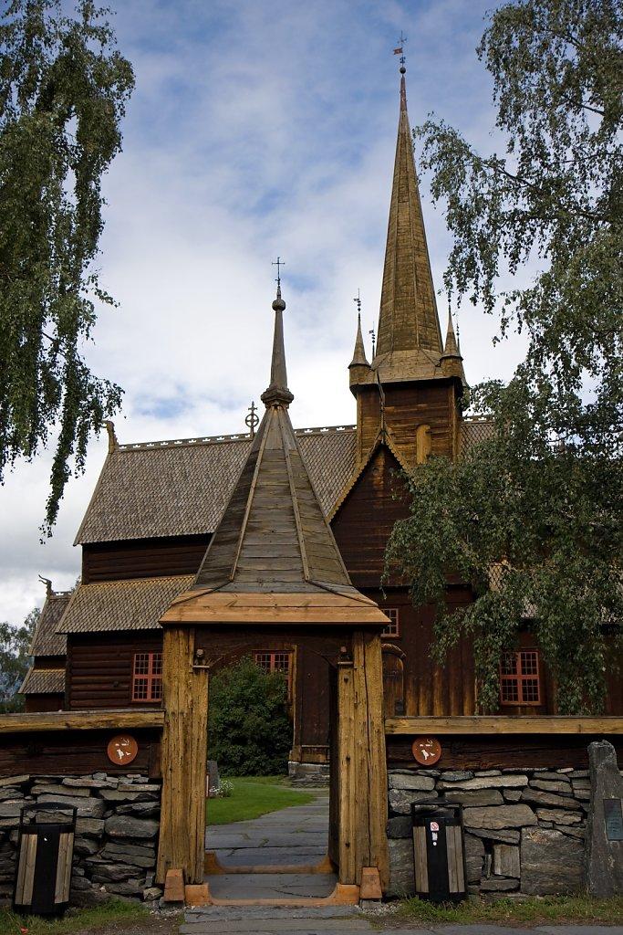 Stabkirche im Lom