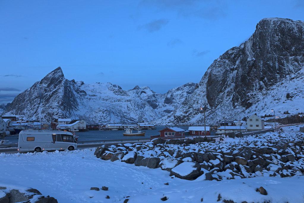 Tolles Panorama, Reine / Lofoten / Nordnorwegen