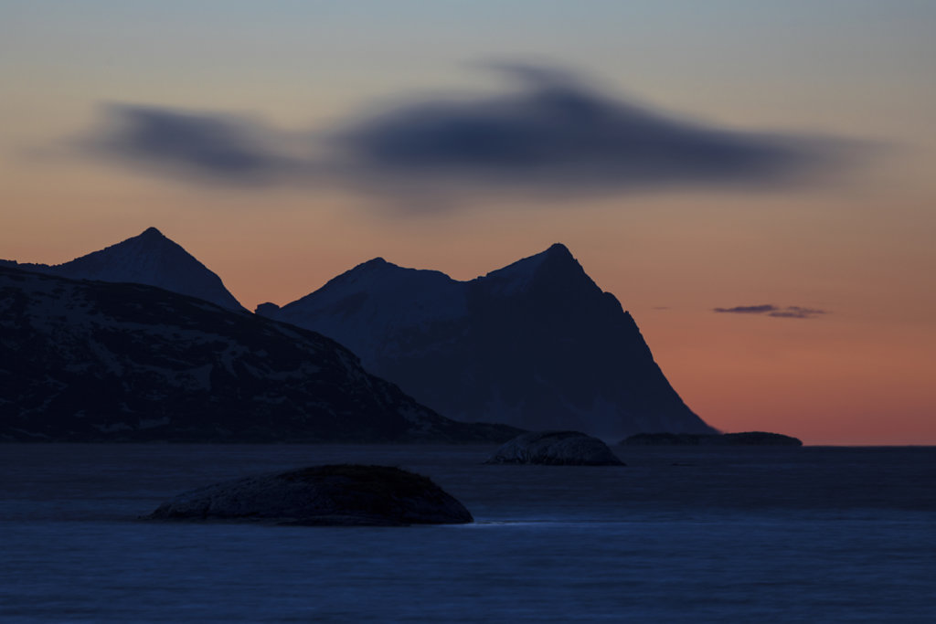 Senja von Sommarøy aus gesehen