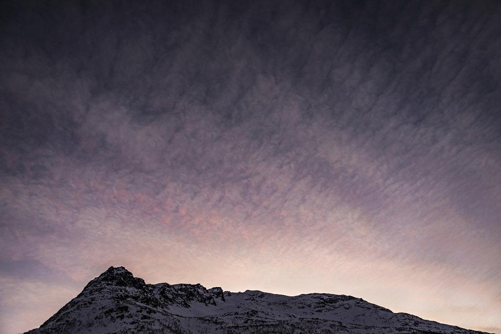 Morgens, 9 Uhr bei Tromsø
