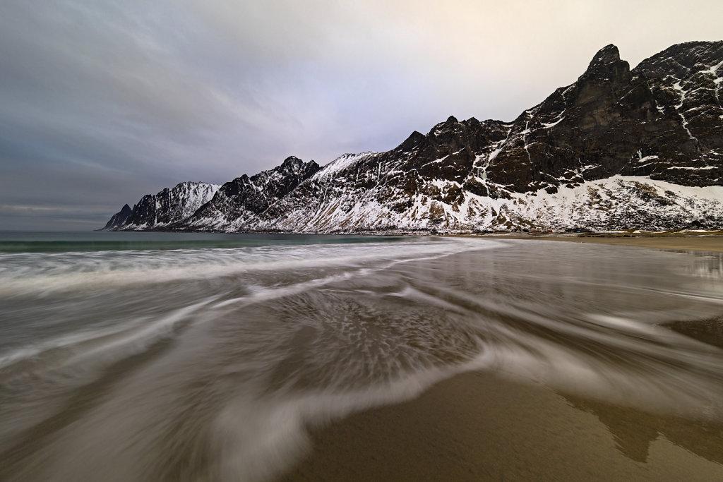 Strand von Ersfjord, Insel Senja
