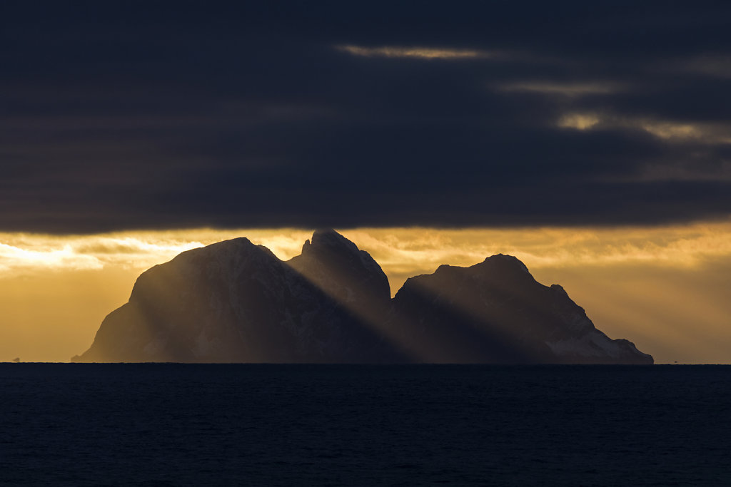 Die Insel Værøya, Lofoten